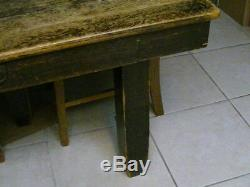 1899 Robbins Table Company 5 Leg 4 Extensions 5 Chairs Tiger Oak Table 30% OFF
