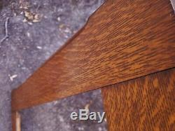 1900 Amazing Large WIDE SOLID TIGER OAK Mission Arts Crafts 21 x 24 Painting Frm