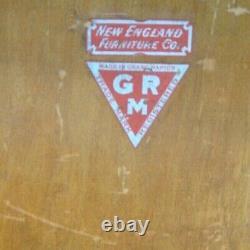 ANTIQUE GRAND RAPIDS MAGICAL Quartersawn Tiger Oak BARRISTER LAWYERS BOOKCASE