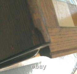 Antique 1900 GUNN QUARTER-SAWN TIGER OAK BARRISTER STACKING LAWYER'S BOOKCASE
