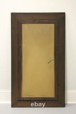 Antique Circa 1900 Quartersawn Tiger Oak Mirror