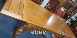 Antique Draw Leaf Dining Table, Oak, 60L, 88L, PA5671MH
