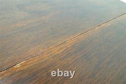 Antique English Drop Leaf Gate Leg Tiger Oak Apartment Table