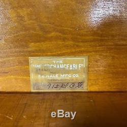Antique F. E. Hale Barrister Arts & Crafts Mission Tiger Oak Book Show Case