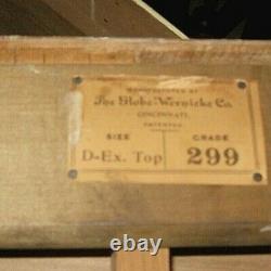 Antique GLOBE WERNICKE QUARTERSAWN TIGER OAK BARRISTER STACKING BOOKCASE