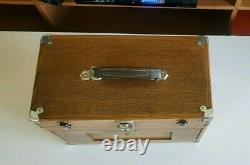 Antique H Gerstner & Sons 7 Drawer B244 Tiger Oak Machinist Tool Jewelry Chest