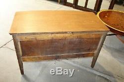Antique Primitive Tiger Oak Wood Dresser Chest of Drawers