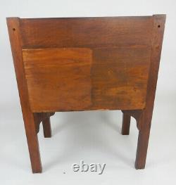 Antique Stickley Mission tiger oak mission server cabinet. 34. Inches wide