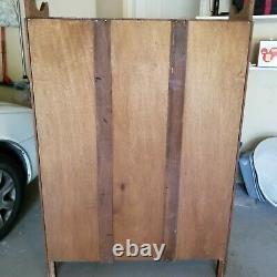 Antique Tiger Oak Bookcase China Cabinet