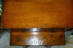 Antique Tiger Oak File Cabinet Possible FREE DELIVERY Stackable Six Drawer