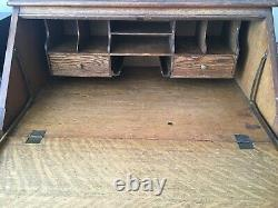 Antique Tiger Oak Secretary Desk VERY RARE, UNIQUE