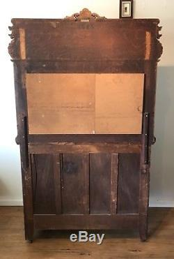 Antique Victorian Tiger Oak Sideboard / Buffet EXCELLENT CONDITION