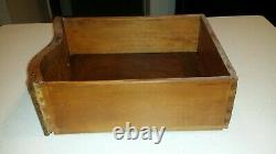 Antique (circa early 1900s) English Tiger Oak dresser and chest