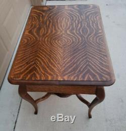 Beautiful Antique Quarter Sawn Tiger Oak Library Table Desk! Pickup Austin/Waco