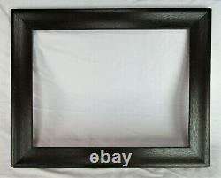 Big Fits 15 X 20 Antique Ebonized Tiger OAK Mission Style Wooden Frame