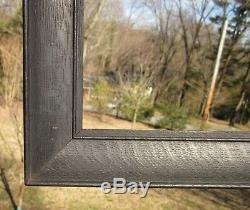 C1900 Ebonized Quarter Sawn Solid Tiger Oak Mission Arts Crafts 11 x 14 Frame