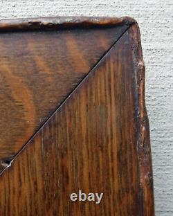 C1900 Excellent Solid Quater Sawn Tiger Oak Mission Arts Crafts Frame 20 x 24