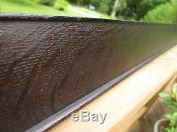 C1900 Outstanding Wide Dark Fumed Quarter Sawn Tiger Oak Mission Arts Crafts Frm