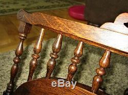 Carved Tiger Oak Spoon Carved Eastlake Sheet Music Holder Victorian Book Stand