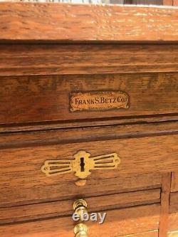 Frank S. Betz dental cabinet
