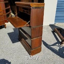 Globe-Wernicke Bookcase 5 Pcs Bookcase /Desk & Drawer D 299 Grade (18-20)