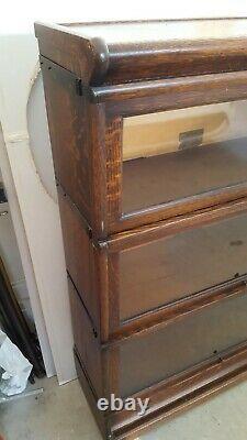 Globe Wernicke Bookcase 5 Pcs Bookcase Grade 299 D