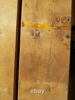 Globe Wernicke Tiger Oak 2 Drawer 41 1/2 Base. (31-20)