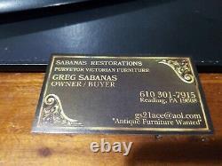 Gunn Tiger Oak Bookcase Top (24-20)