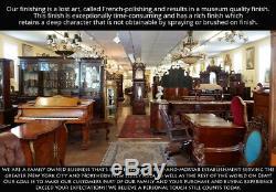 Incredible Tiffany & Co Quarter-Sawn Tiger Oak Lion Tall Case Grandfather Clock