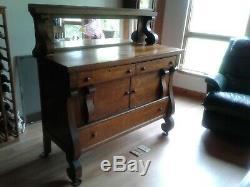 Late 1910s/Early 1920s Tiger Oak Buffet