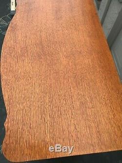 Lexington Victorian Sampler Door Chest Dresser Model 391-307, Tiger Oak