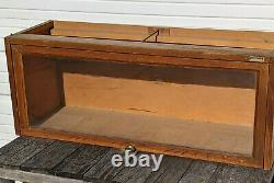 Macy 711 BARRISTER Tiger OAK Bookcase Section 13.5 high Needs Refinished