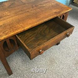 Mission Oak Arts & Crafts Library Table