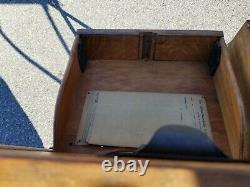 Rare Globe Wernicke 41 1/2 Letter File Section (32-20)