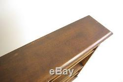Solid Oak Bookcase, Open Bookcase, Victorian Tiger Oak, Scotland 1890, B1192