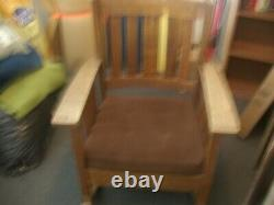 Stickley & Brandi Mission Oak Rocking Chair