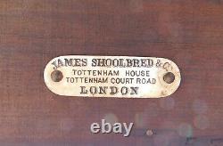 Tiger Oak Revolving Bookcase ShelfJames Shoolbred and Co. London