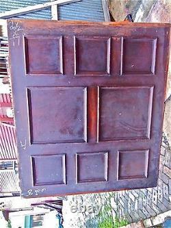 Tiger Oak wood Wainscot Architectural Antique raised panel 77 X 67