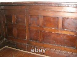 Tiger Oak wood Wainscot Architectural Antique raised panel Group of smaller