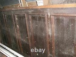 Tiger Oak wood panel Wainscot Architectural Antique 90x 45