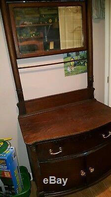 Tiger oak bedroom suite 3pc