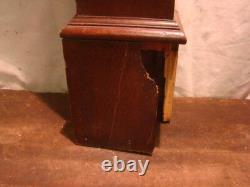 Vintage Antique Wooden Newel Stairway Post Architectural Salvage TIGER OAK