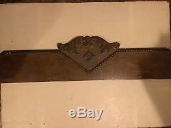 Vintage Tiger Golden Oak Five Drawer Dresser